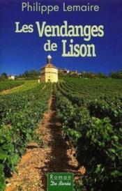 Les vendanges de Lison - Couverture - Format classique