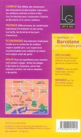 *Barcelone* (édition 2005) - 4ème de couverture - Format classique