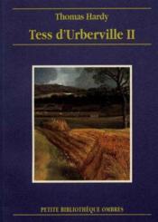 Tess D'Urberville Tome 2 - Couverture - Format classique