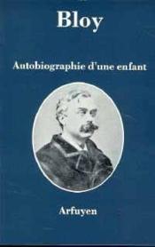 Autobiographie D'Une Enfant - Couverture - Format classique