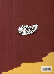 Buck - 4ème de couverture - Format classique