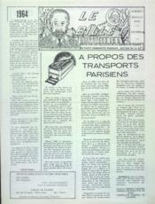 Billet (Le) N°2 du 01/01/1964 - Couverture - Format classique