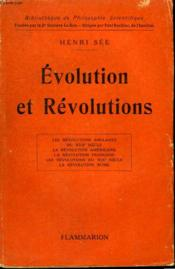 Evolution Et Revolutions. Collection : Bibliotheque De Philosophie Scientifique. - Couverture - Format classique