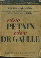 Vive Petain, Vive Degaulle - Couverture - Format classique