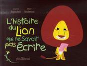 L'histoire du lion qui ne savait pas écrire - Intérieur - Format classique