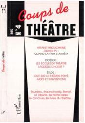 Coups De Theatre 4 - Couverture - Format classique