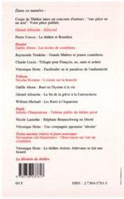 Coups De Theatre 4 - 4ème de couverture - Format classique
