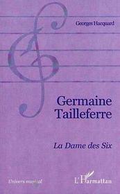 Germaine Tailleferre La Dame Des Six - Intérieur - Format classique