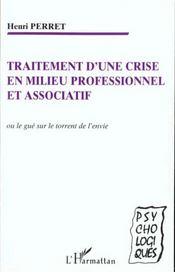 Traitement d'une crise en milieu professionnel et associatif - Intérieur - Format classique