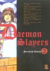 Daemon Slayers T.2 - Couverture - Format classique