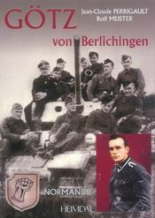 Gotz von berlichingen t.1 - Intérieur - Format classique