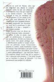Neron Le Poete Ensanglante - 4ème de couverture - Format classique