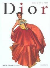 Mémoire de la mode ; Dior - Intérieur - Format classique