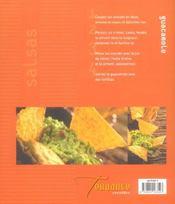 Salsas Et Dips - 4ème de couverture - Format classique