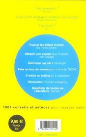 Le Guide Du Jeune Voyageur - 4ème de couverture - Format classique