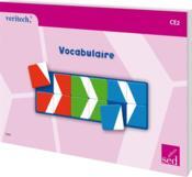 Vocabulaire ; CE2 - Couverture - Format classique