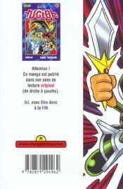 Yu-Gi-Oh t.22 - 4ème de couverture - Format classique