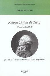 Antoine destutt de tracy ; homme de la liberte - Intérieur - Format classique