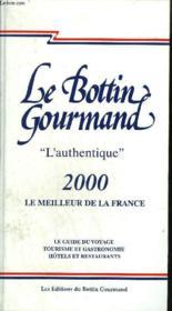 Le bottin gourmand 2000 - Couverture - Format classique