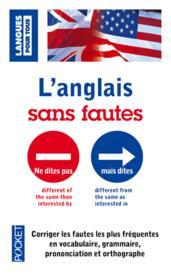 L'anglais sans fautes - Couverture - Format classique
