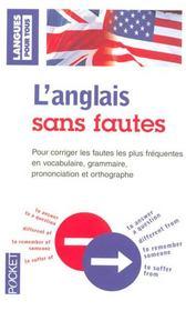 L'anglais sans fautes - Intérieur - Format classique