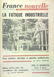 France Nouvelle N°996 du 18/01/1964 - Couverture - Format classique