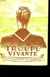 Troupe Vivante - Le Manuel Du Chef De Troupe - Couverture - Format classique