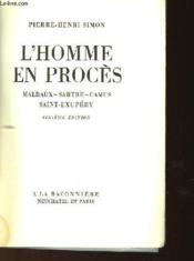 L'Homme En Proces - Couverture - Format classique