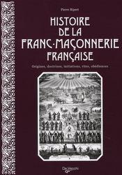 Histoire de la franc-maçonnerie française - Intérieur - Format classique