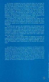 Guide Pratique De La Cooperation Medicale ; De L'Analyse Des Systemes De Sante A L'Action - 4ème de couverture - Format classique