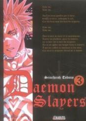 Daemon Slayers T.3 - Couverture - Format classique