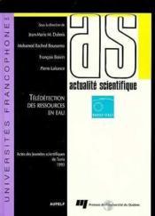 Aupelf Teleditionressources Eau - Couverture - Format classique