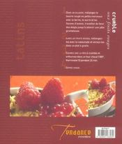 Tatins, Crumbles Sucres Et Trifles - 4ème de couverture - Format classique