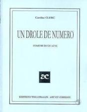Un drole de numero - Couverture - Format classique