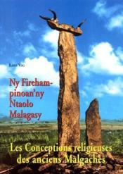 Les conceptions religieuses des anciens Malgaches - Couverture - Format classique