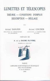 Lunettes et téléscopes - Intérieur - Format classique