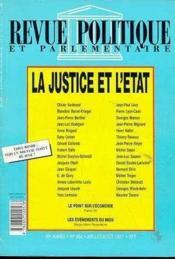 Justice & Etat - Couverture - Format classique