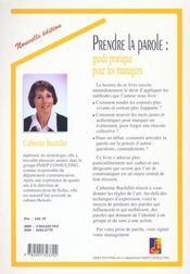 Prendre La Parole:Guide Pratique/2 Edition - 4ème de couverture - Format classique