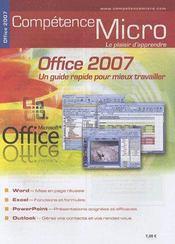 Competence Micro ; Office 2007 - Intérieur - Format classique