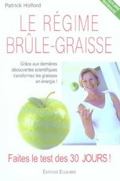 Regime Brule Graisse - Intérieur - Format classique
