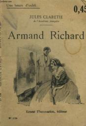 Armand Richard. Collection : Une Heure D'Oubli N° 134 - Couverture - Format classique