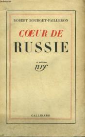 Coeur De Russie. - Couverture - Format classique