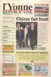 Yonne Republicaine (L') N°17 du 21/01/2000 - Couverture - Format classique