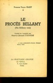 Le Proces Bellamy - The Bellamy Trial - Couverture - Format classique