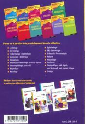 Hepato-Gastro-Enterologie Et Chirurgie Digestive - 4ème de couverture - Format classique