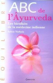 Abc De L'Ayurveda - Couverture - Format classique