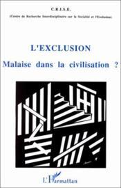 Exclusion Malaise Dans La Civilisation? - Couverture - Format classique