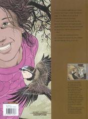 L'assassin qui parle aux oiseaux t.1 - 4ème de couverture - Format classique