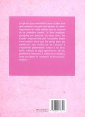 Petits Jeux D'Eveil Pour Les Bebes De 1 A 12 Mois - 4ème de couverture - Format classique