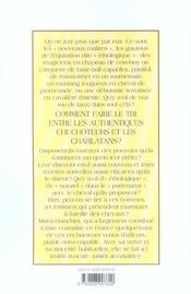 Les Recettes Des Chuchoteurs : Foutaise Ou Panacee ? - 4ème de couverture - Format classique